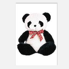 Cute Stuffed Panda Postcards (Package of 8)