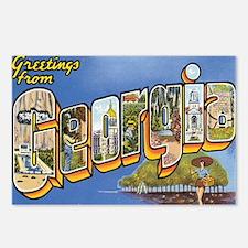 Georgia Postcard Postcards (Package of 8)