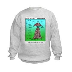 #1 Fits-all family tree Sweatshirt