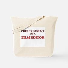 Proud Parent of a Film Editor Tote Bag