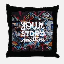 Unique Empowerment Throw Pillow