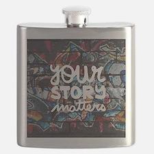 Unique Graffiti Flask
