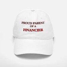 Proud Parent of a Financier Baseball Baseball Cap