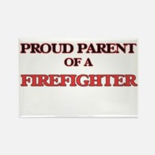 Proud Parent of a Firefighter Magnets
