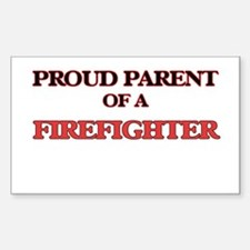 Proud Parent of a Firefighter Bumper Stickers