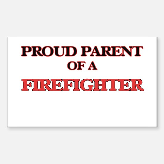 Proud Parent of a Firefighter Decal
