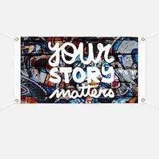 your story matters graffiti hip hop Banner