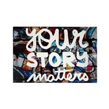 your story matters graffiti hip hop Magnets