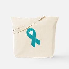 Prostate Cancer Ribbon Tote Bag