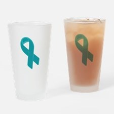 Prostate Cancer Ribbon Drinking Glass