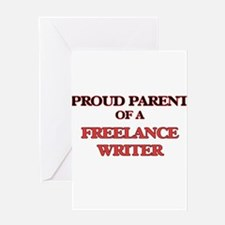 Proud Parent of a Freelance Writer Greeting Cards