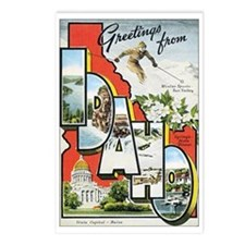 Idaho Postcard Postcards (Package of 8)