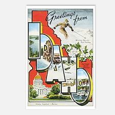 Idaho Postcard Postcards (Package of 8)