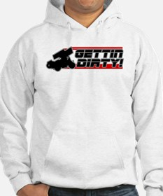 Gettin Dirty -Red Hoodie