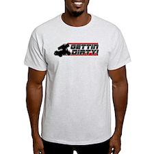 Gettin Dirty -Red T-Shirt