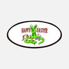 Happy Easter Snake Bunny Patch