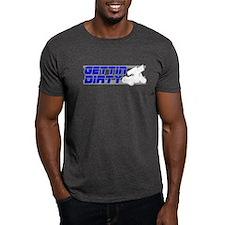 Gettin Dirty Blue/Grey T-Shirt