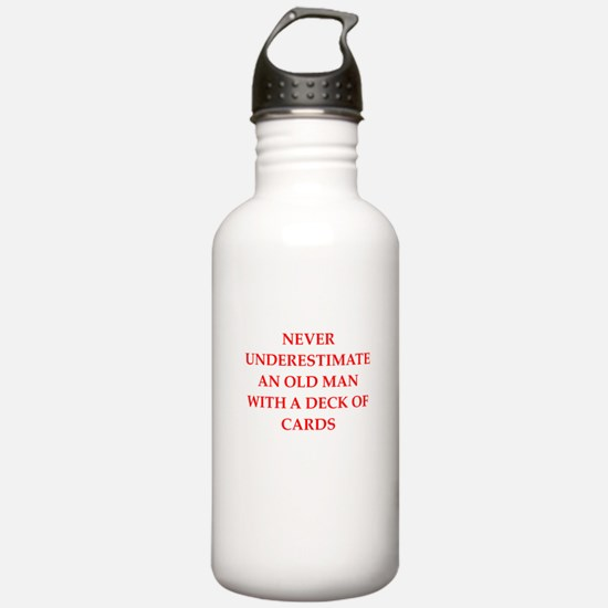 old man Water Bottle