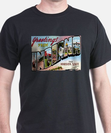 Indiana Postcard T-Shirt