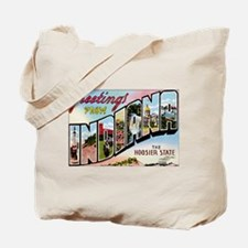 Indiana Postcard Tote Bag