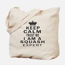 Squash Expert Designs Tote Bag
