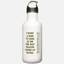 I WANT A MAN... Water Bottle