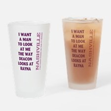 I WANT A MAN... Drinking Glass