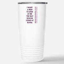 I WANT A MAN... Travel Mug
