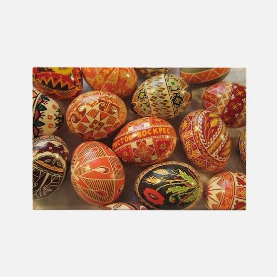 Funny Easter egg Rectangle Magnet