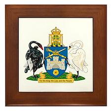 Canberra Coat of Arms Framed Tile