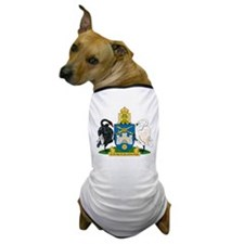 Canberra Coat of Arms Dog T-Shirt