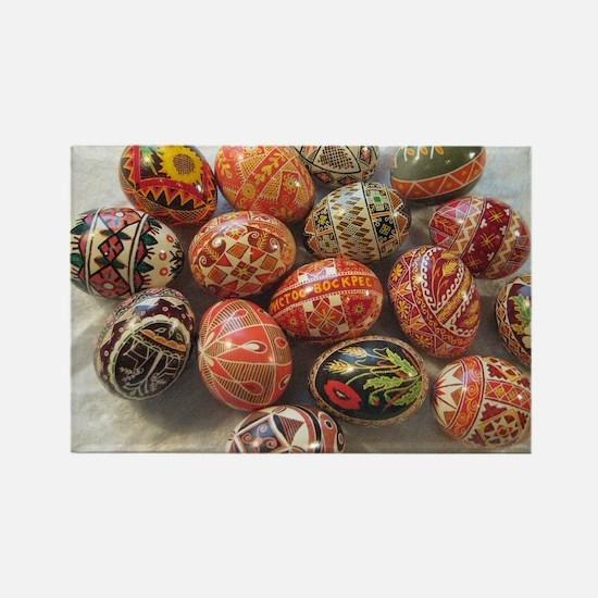 Cute Easter egg Rectangle Magnet