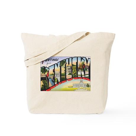 Kentucky Postcard Tote Bag