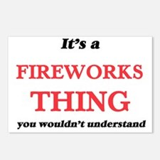 It's a Fireworks thin Postcards (Package of 8)
