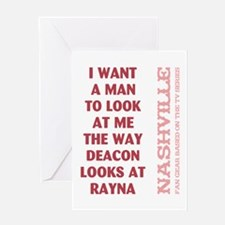I WANT A MAN... Greeting Cards
