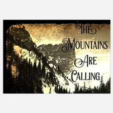 Funny Mountain Wall Art