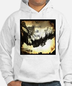 vintage mountains are calling Hoodie