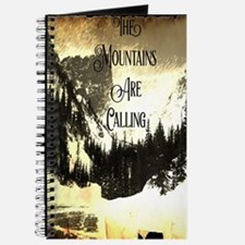 vintage mountains are calling Journal