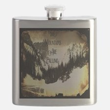 vintage mountains are calling Flask
