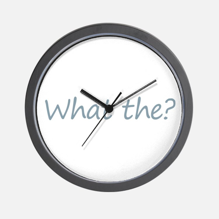 What the? Wall Clock