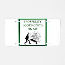 prosperity Aluminum License Plate