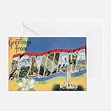 Louisiana Postcard Greeting Card