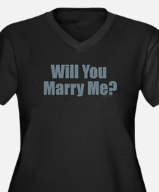 Will You Marry Me Plus Size T-Shirt