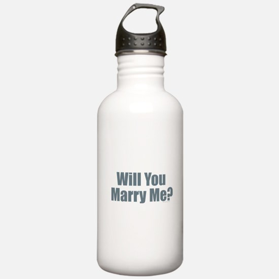 Will You Marry Me Water Bottle