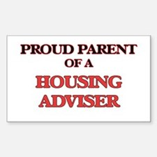 Proud Parent of a Housing Adviser Decal
