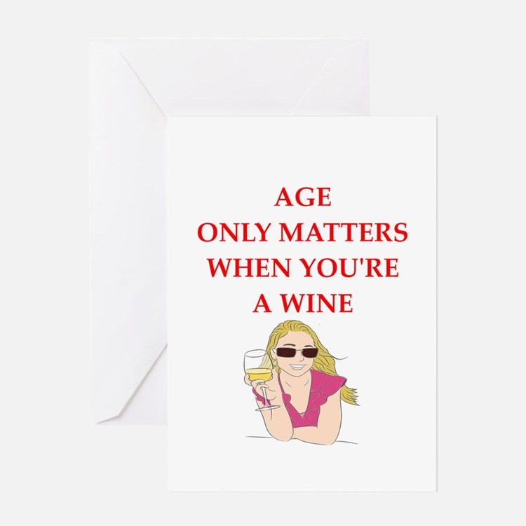age Greeting Cards