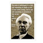 Bertrand Russell on Philosophy Postcards