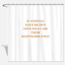 animals Shower Curtain