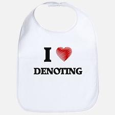 I love Denoting Bib