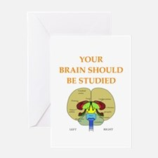 brain Greeting Cards